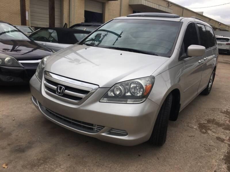 2007 Honda Odyssey for sale at TETCO AUTO SALES  / TETCO FUNDING in Dallas TX