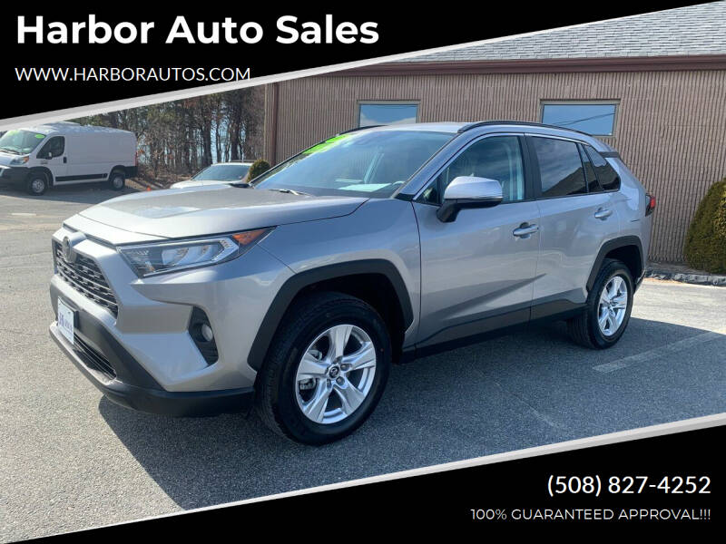 2021 Toyota RAV4 for sale at Harbor Auto Sales in Hyannis MA