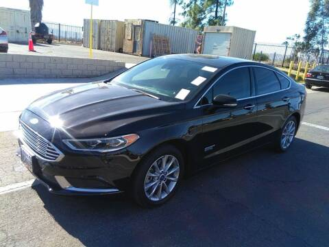 2018 Ford Fusion Energi for sale at A.I. Monroe Auto Sales in Bountiful UT