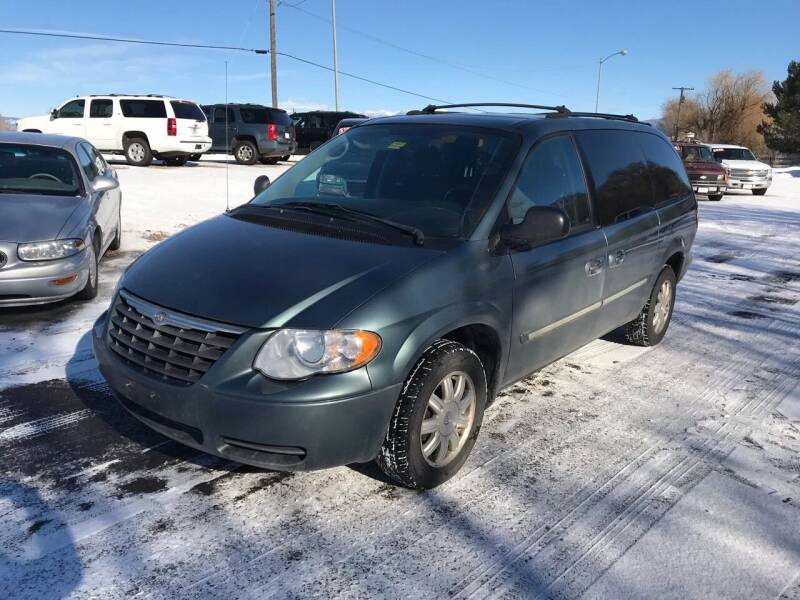 2005 Chrysler Town and Country for sale at AUTO BROKER CENTER in Lolo MT