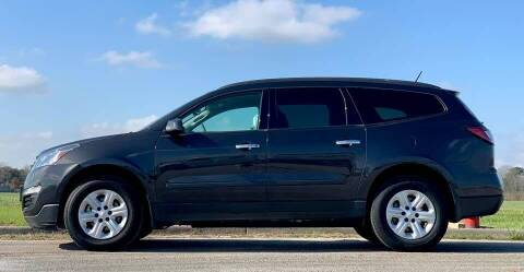 2017 Chevrolet Traverse for sale at Palmer Auto Sales in Rosenberg TX