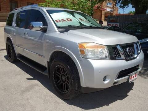 2013 Nissan Armada for sale at R & D Motors in Austin TX