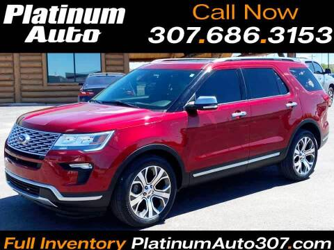 2019 Ford Explorer for sale at Platinum Auto in Gillette WY