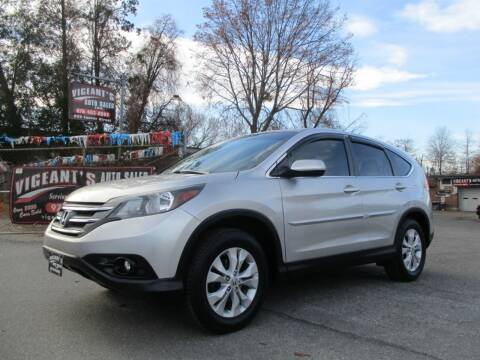 2014 Honda CR-V for sale at Vigeants Auto Sales Inc in Lowell MA