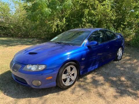 2006 Pontiac GTO for sale at Allen Motor Co in Dallas TX