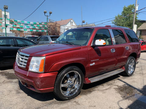 2002 Cadillac Escalade for sale at Barnes Auto Group in Chicago IL