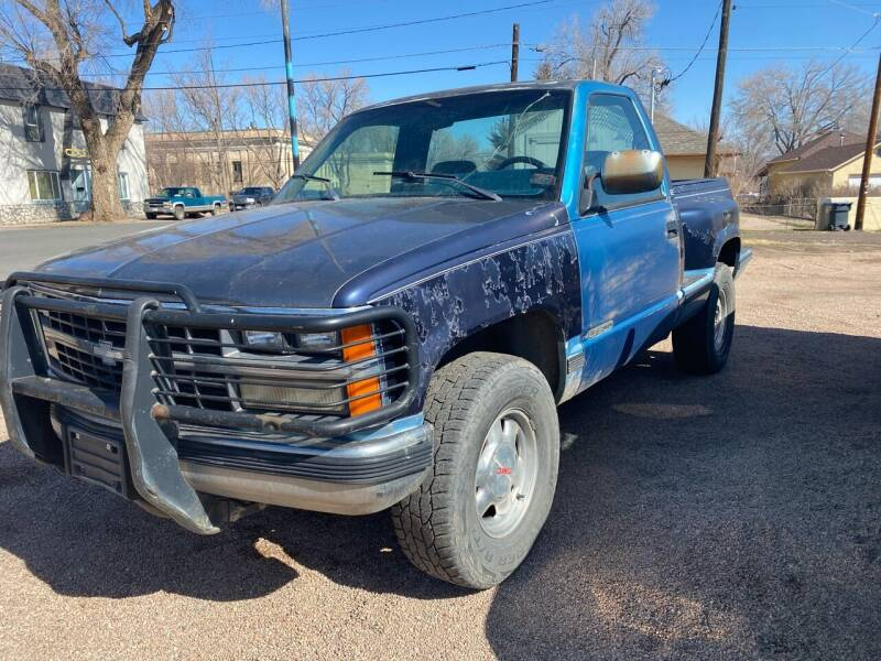 1989 Chevrolet C/K 1500 Series for sale at PYRAMID MOTORS AUTO SALES in Florence CO