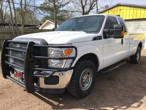 2016 Ford F-250 Super Duty for sale at M & J Motor Sports in New Caney TX