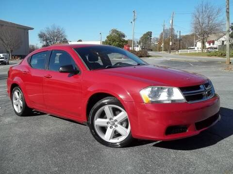 2013 Dodge Avenger for sale at CORTEZ AUTO SALES INC in Marietta GA