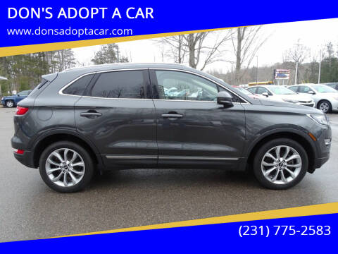 2017 Lincoln MKC for sale at DON'S ADOPT A CAR in Cadillac MI
