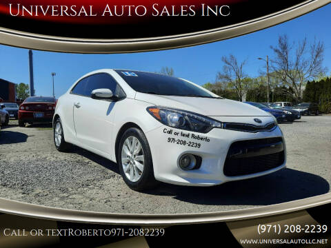 2015 Kia Forte Koup for sale at Universal Auto Sales Inc in Salem OR