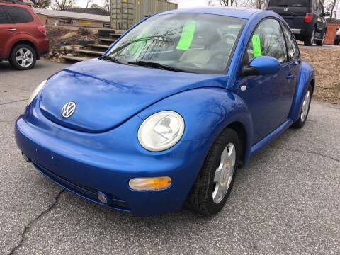 2001 Volkswagen New Beetle for sale at BRATTLEBORO AUTO SALES in Brattleboro VT