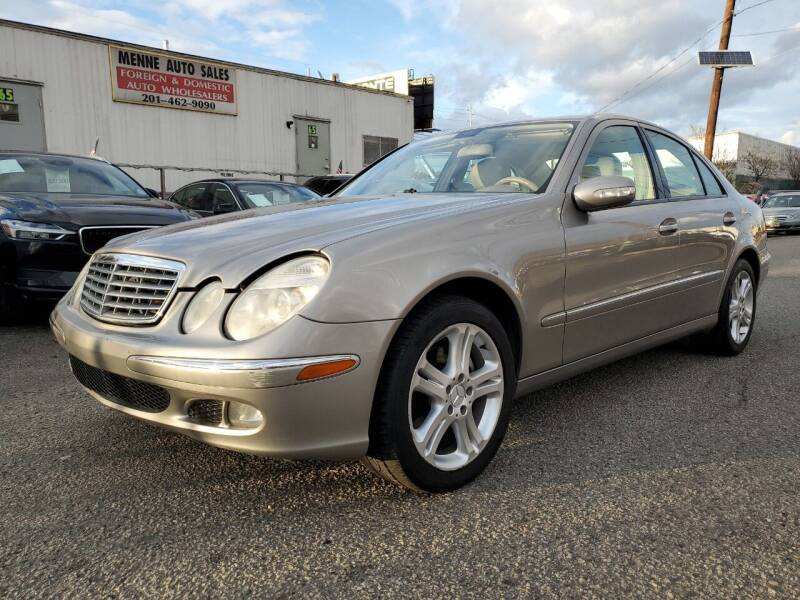 2006 Mercedes-Benz E-Class for sale at MENNE AUTO SALES in Hasbrouck Heights NJ