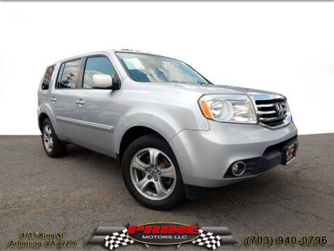 2014 Honda Pilot for sale at PRIME MOTORS LLC in Arlington VA
