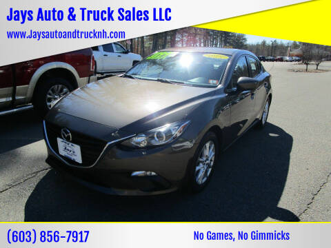 2016 Mazda MAZDA3 for sale at Jays Auto & Truck Sales LLC in Loudon NH