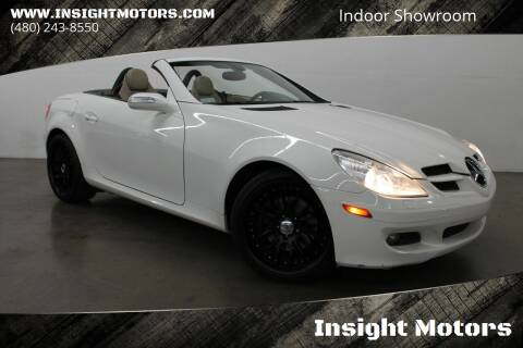 2006 Mercedes-Benz SLK for sale at Insight Motors in Tempe AZ