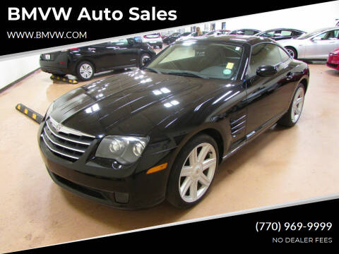 2005 Chrysler Crossfire for sale at BMVW Auto Sales in Union City GA