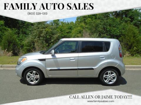2010 Kia Soul for sale at Family Auto Sales in Rock Hill SC