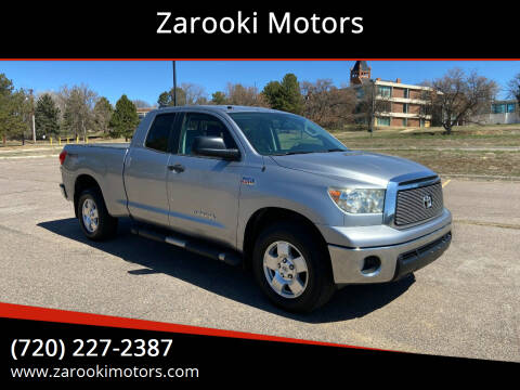 2010 Toyota Tundra for sale at Zarooki Motors in Englewood CO