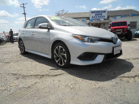 2016 Scion iM for sale at Mountain Auto in Jackson CA