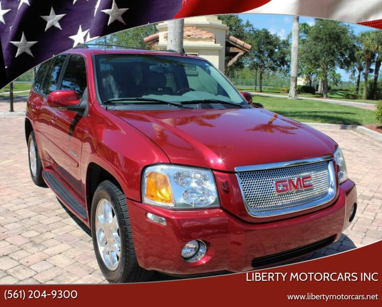 2006 GMC Envoy for sale at LIBERTY MOTORCARS INC in Royal Palm Beach FL