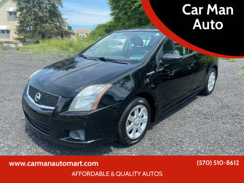 2010 Nissan Sentra for sale at Car Man Auto in Old Forge PA