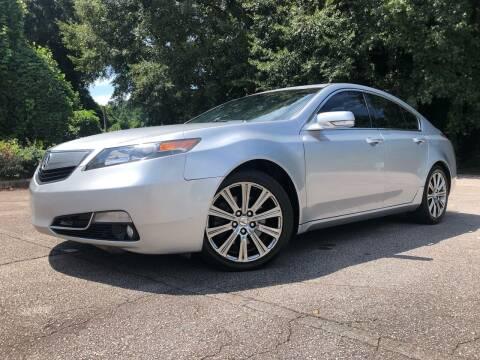 2014 Acura TL for sale at El Camino Auto Sales in Gainesville GA
