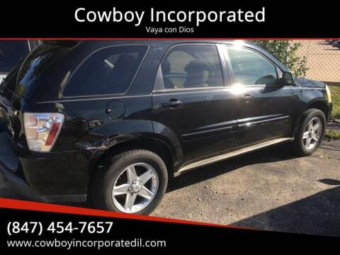 2005 Chevrolet Equinox for sale at Cowboy Incorporated in Waukegan IL