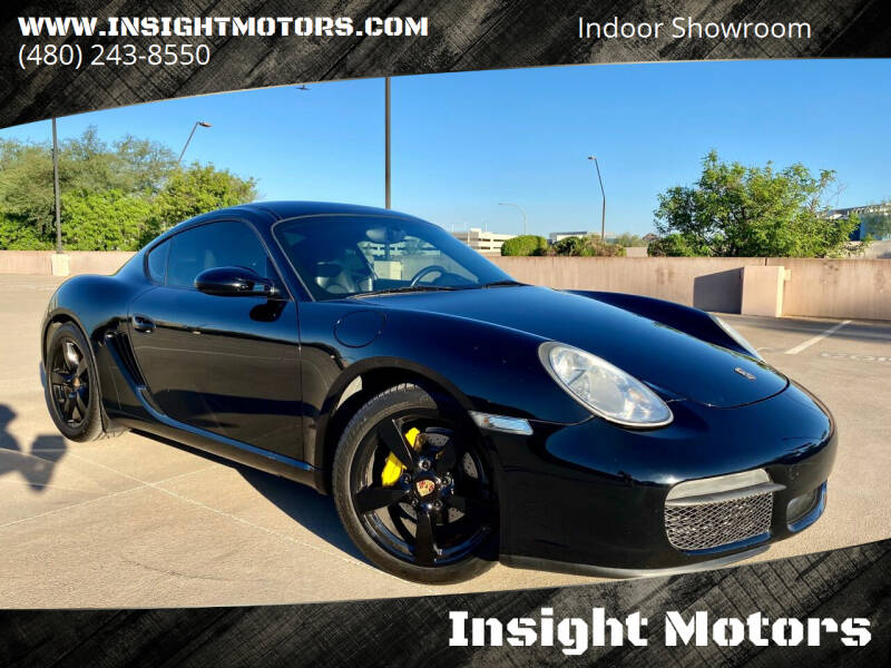 2007 Porsche Cayman for sale at Insight Motors in Tempe AZ