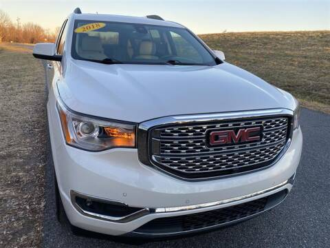2018 GMC Acadia for sale at Mr. Car City in Brentwood MD