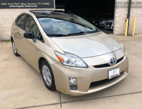 2010 Toyota Prius for sale at KAYALAR MOTORS Mechanic in Houston TX