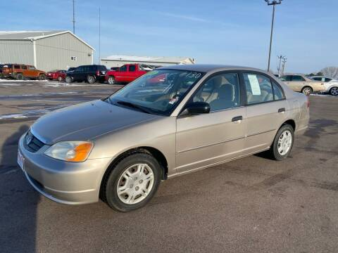 2001 Honda Civic for sale at De Anda Auto Sales in South Sioux City NE