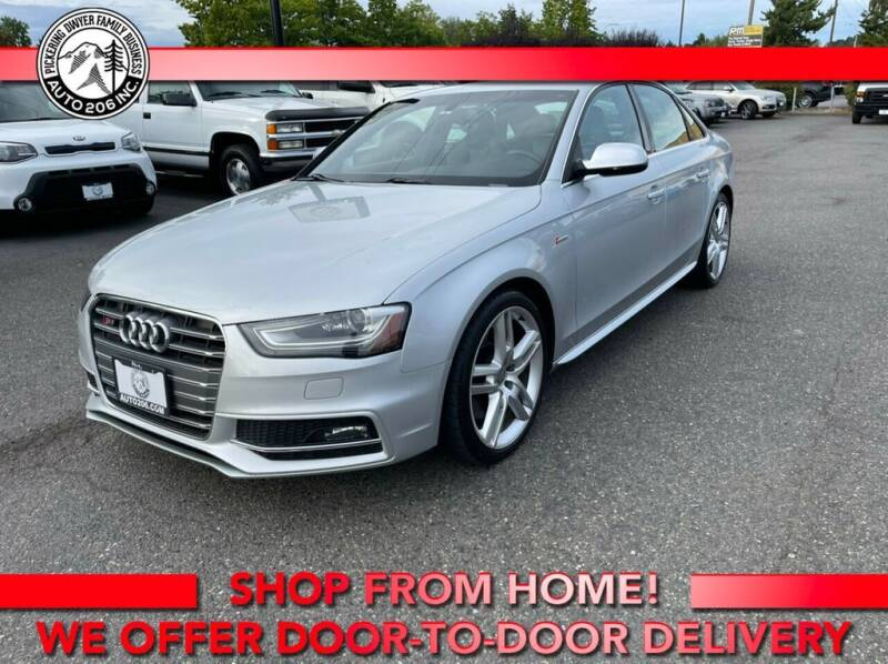 2014 Audi S4 for sale at Auto 206, Inc. in Kent WA