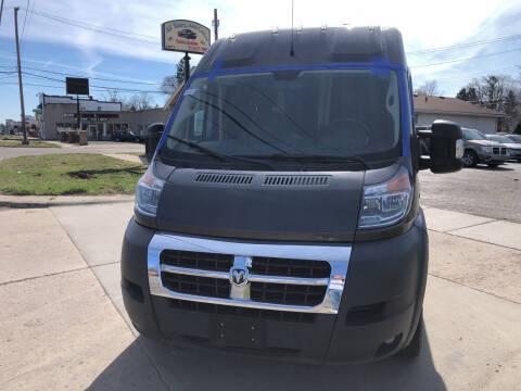 2018 RAM ProMaster Cargo for sale at All Starz Auto Center Inc in Redford MI