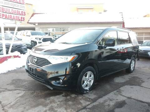 2016 Nissan Quest for sale at STS Automotive in Denver CO