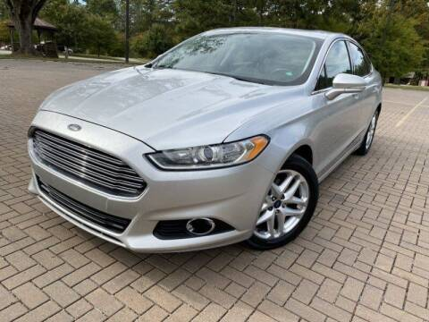 2013 Ford Fusion for sale at JES Auto Sales LLC in Fairburn GA