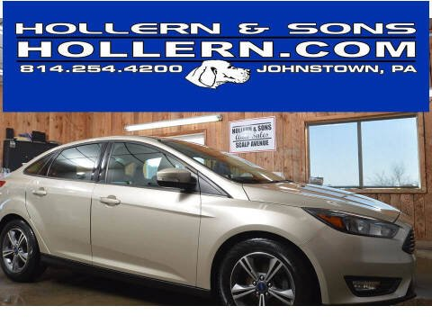 2017 Ford Focus for sale at Hollern & Sons Auto Sales in Johnstown PA
