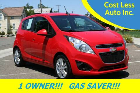 2015 Chevrolet Spark for sale at Cost Less Auto Inc. in Rocklin CA