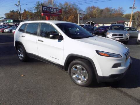 2014 Jeep Cherokee for sale at Comet Auto Sales in Manchester NH