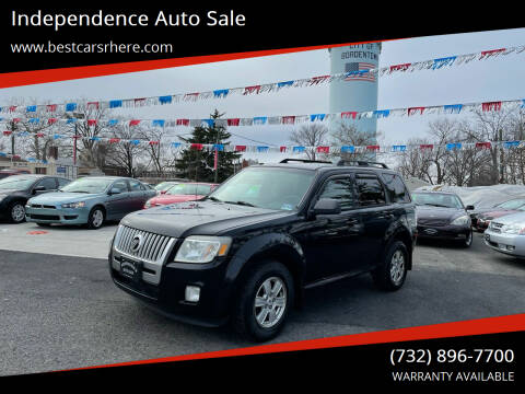 2010 Mercury Mariner for sale at Independence Auto Sale in Bordentown NJ