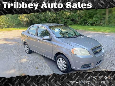 2009 Chevrolet Aveo for sale at Tribbey Auto Sales in Stockbridge GA
