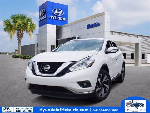 2018 Nissan Murano for sale at Metairie Preowned Superstore in Metairie LA