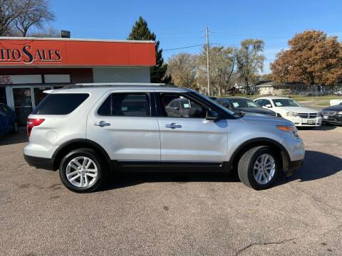 2012 Ford Explorer for sale at RIVERSIDE AUTO SALES in Sioux City IA