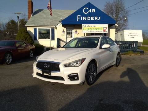 2014 Infiniti Q50 for sale at CAR FINDERS OF MARYLAND LLC in Eldersburg MD