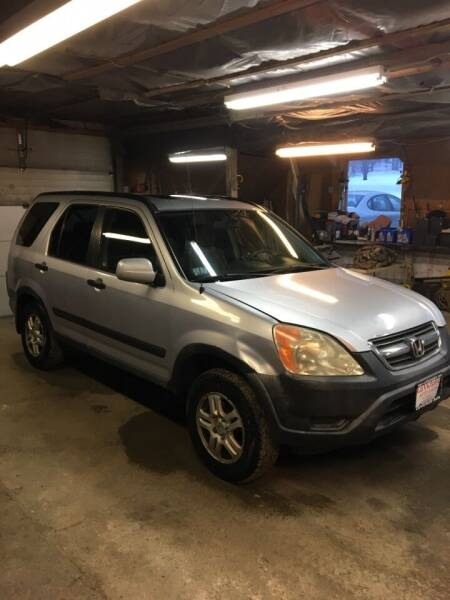 2002 Honda CR-V for sale at Lavictoire Auto Sales in West Rutland VT