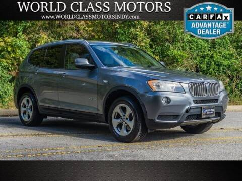 2011 BMW X3 for sale at World Class Motors LLC in Noblesville IN