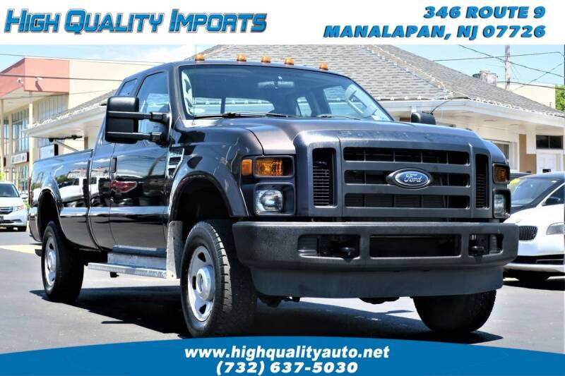2008 Ford F-250 Super Duty for sale at High Quality Imports in Manalapan NJ