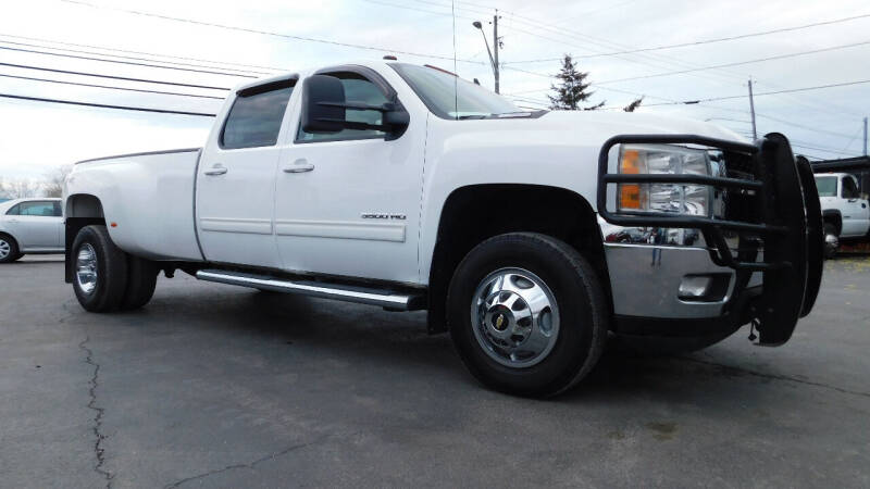2011 Chevrolet Silverado 3500HD for sale at Action Automotive Service LLC in Hudson NY