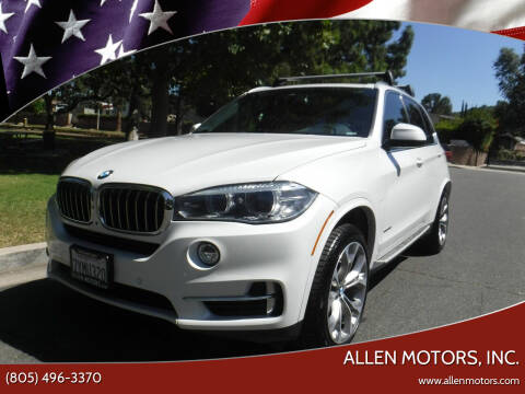 2017 BMW X5 for sale at Allen Motors, Inc. in Thousand Oaks CA