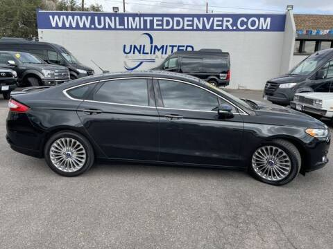 2013 Ford Fusion for sale at Unlimited Auto Sales in Denver CO